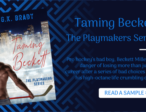 Read a Sample of Taming Beckett, Book One of The Playmakers Series