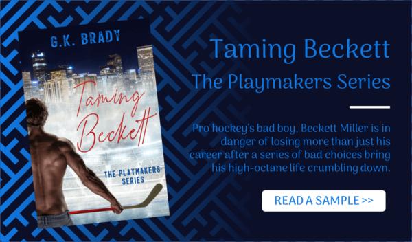 Contemporary Romance Novel Sample Taming Beckett