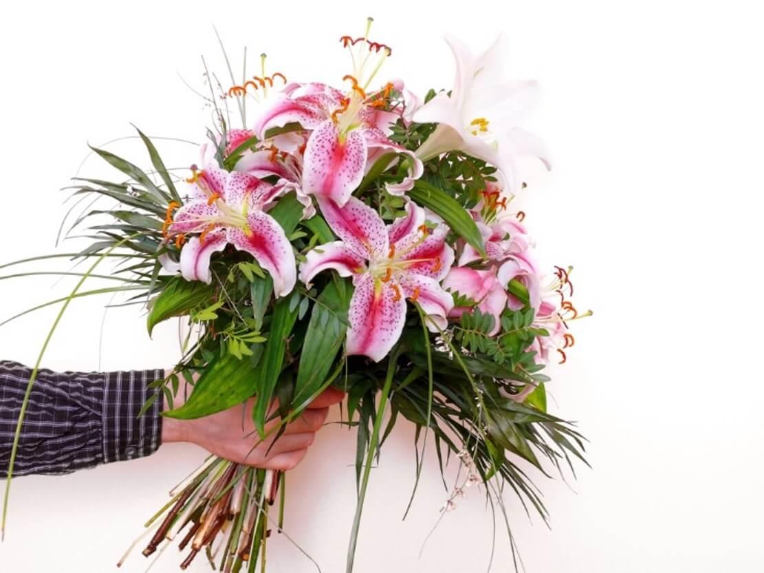 Stargazer Lily Romantic Flower