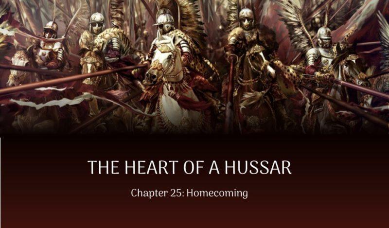 Historical Fiction polish hussars excerpt