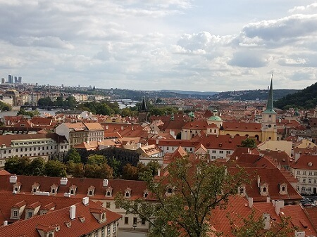 Prague Most Romantic City