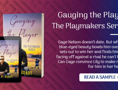 Read a Sample of Gauging the Player (The Playmakers Series #3)