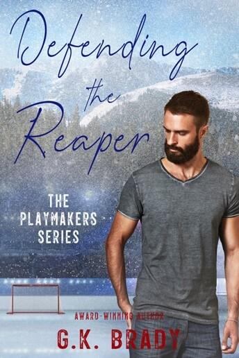 hockey player romance novel cover