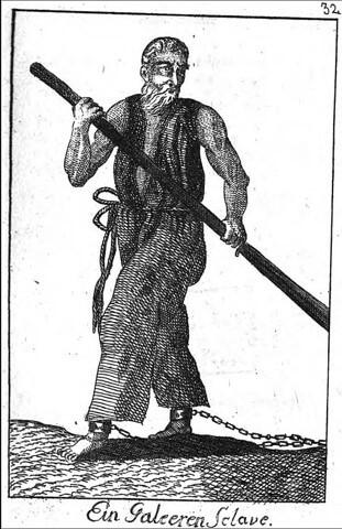Galley Slave Depiction