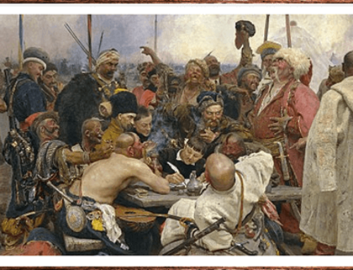 Insulting the Sultan: Reply of the Zaporozhian Cossacks