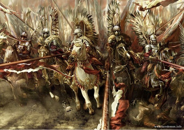 Polish Winged Hussars of the 17th century