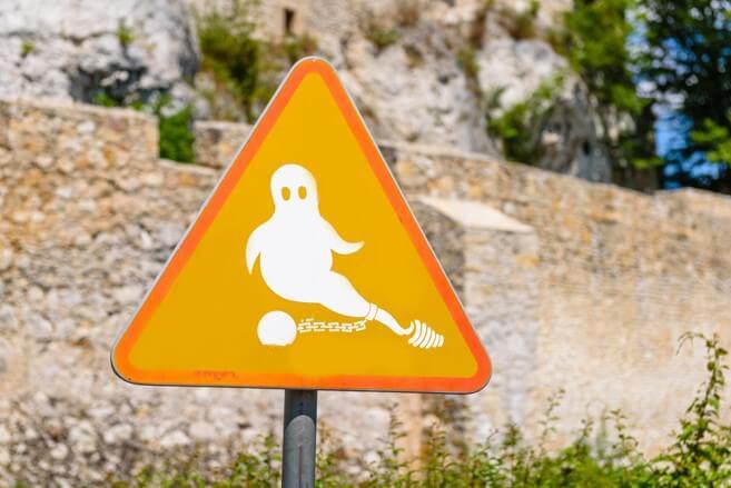 Bobolice Castle Ghost