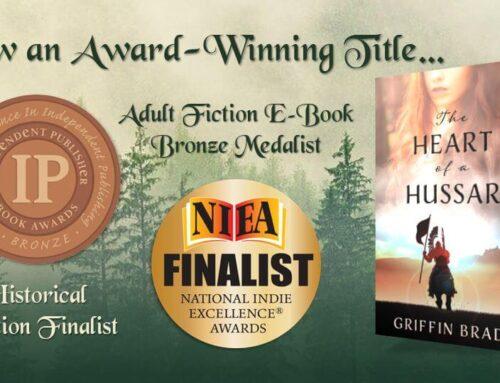 The Heart of a Hussar is Now an Award-Winning Title!